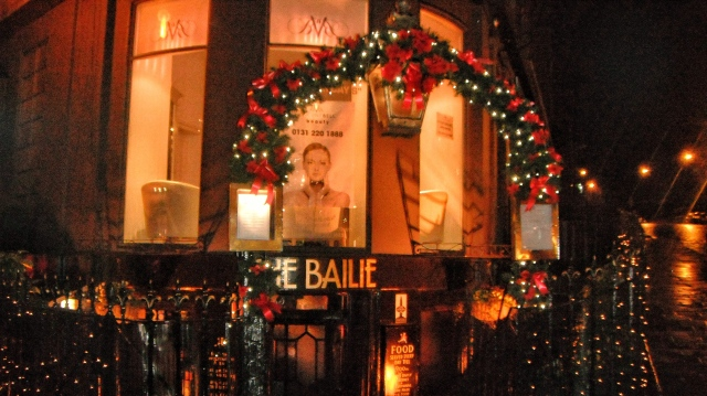 Entrance to the Bailie