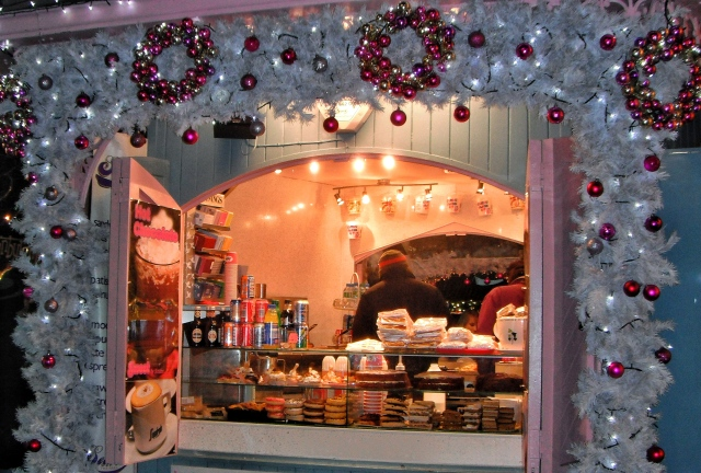 Hot Chocolate stall
