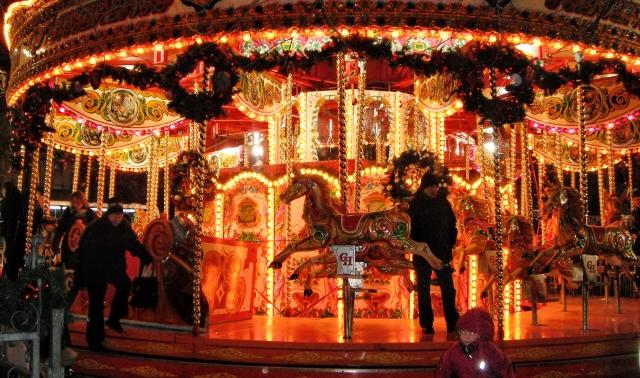 Carousel at Christmas