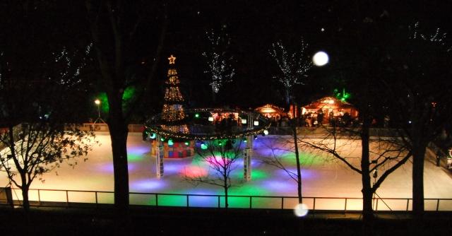 Princes Street Ice Rink 2012