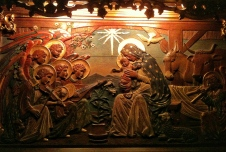 St Giles nativity, Edinburgh - December 2012
