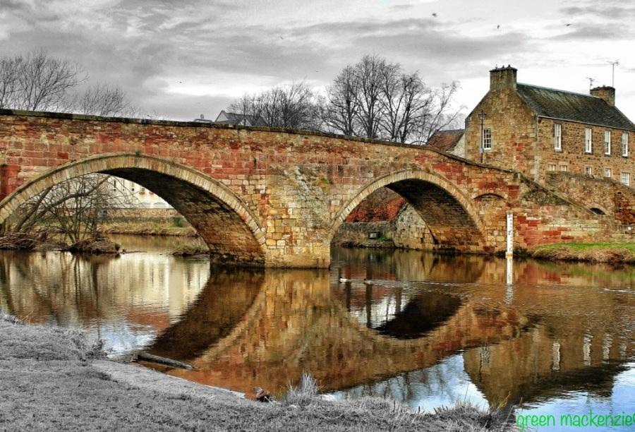 Stone bridge to ancient Nunnery