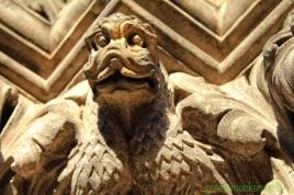 Stone beastie on St Giles