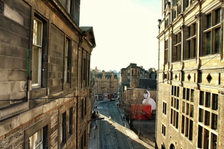 The Grassmarket from George IV Bridge
