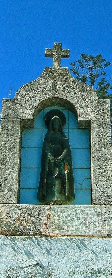 Mysterious black madonna