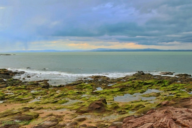 Green tidal pools - Gullane