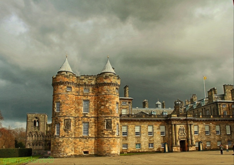 Front Face - Holyrood Palace