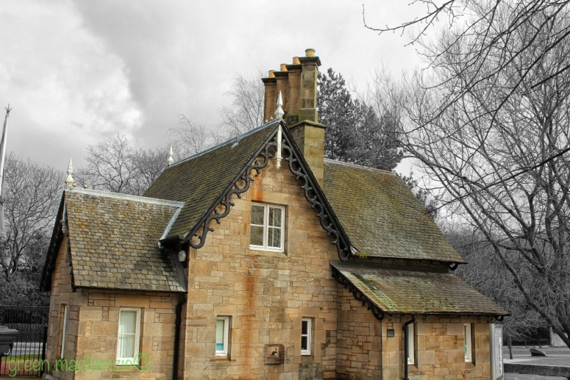 Gate house - Holyrood Palace, Edinburgh