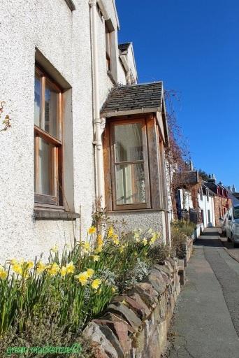 Vintage house Plockton Village ge