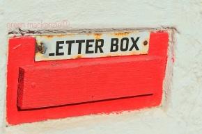 Vintage postbox Plockton