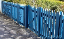 Blue Picket Fence Plockton