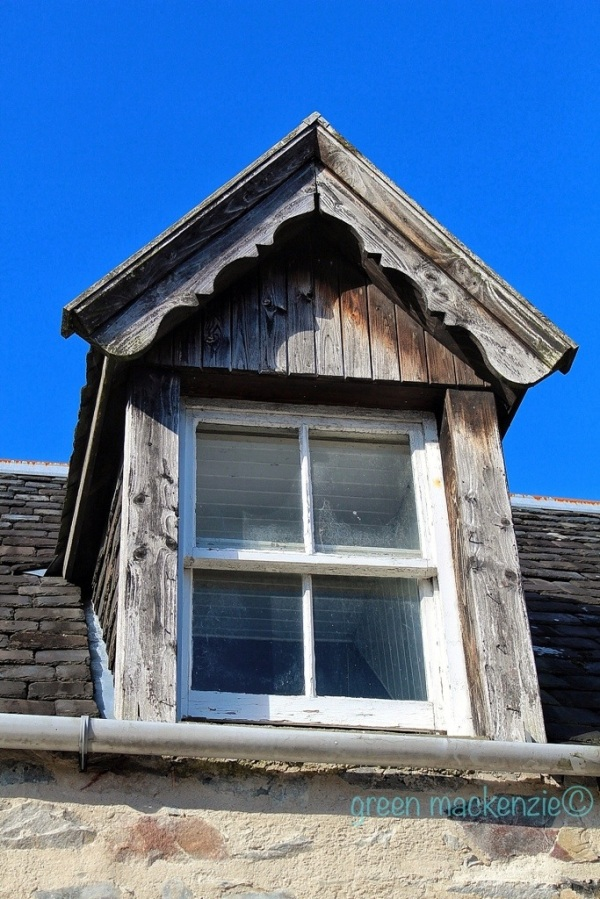 Upstairs window Plockton