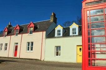 Red and Yellow and Blue - Plockton