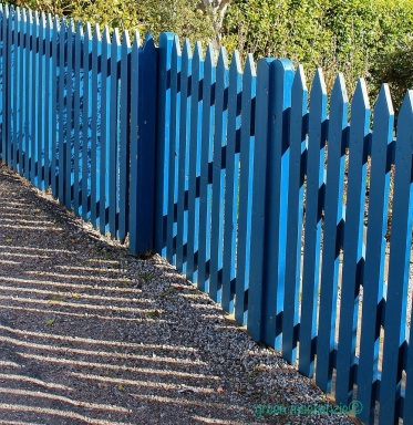 Blue Fence, Harbour Street