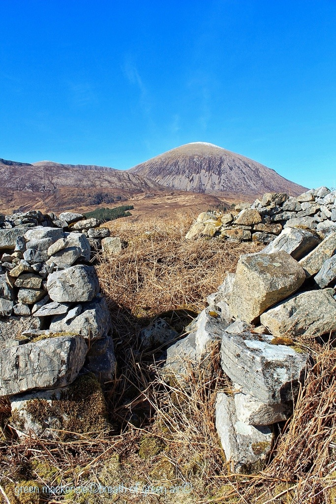 Drystone Wall - Red Coullins, Skye