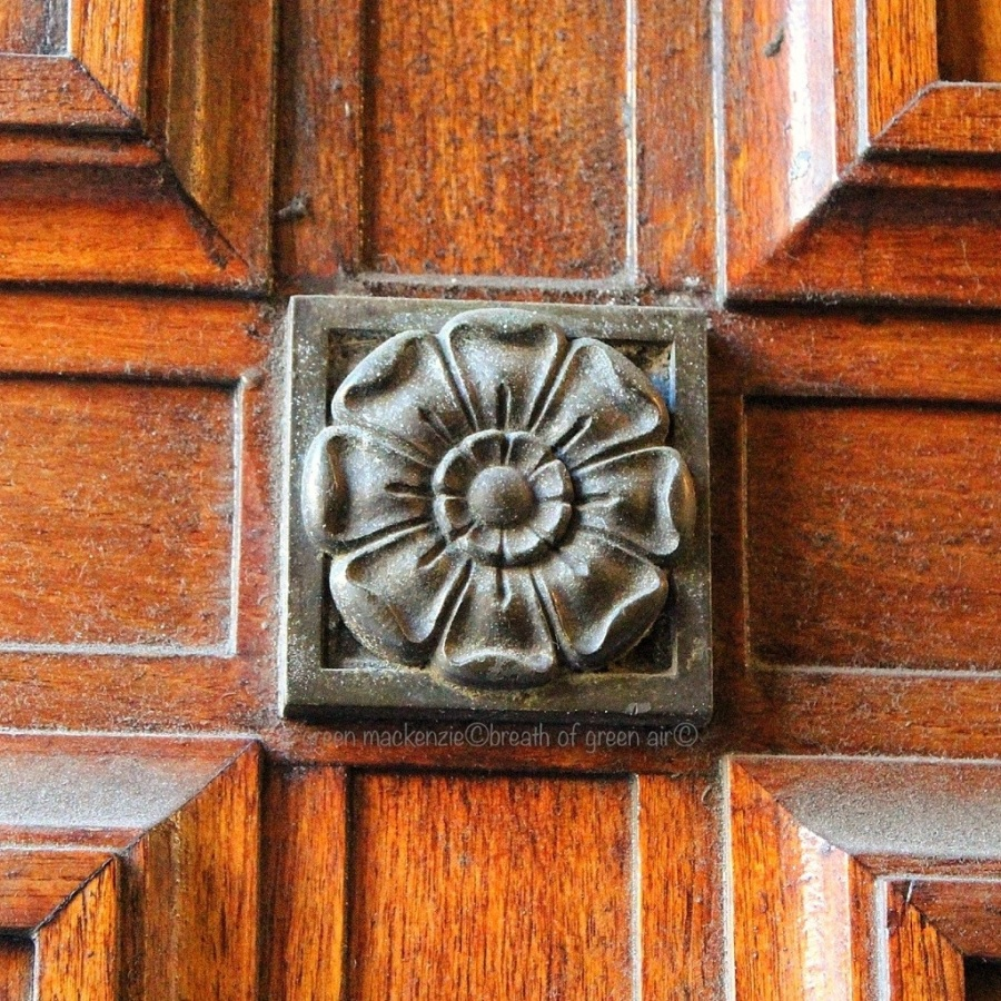 Door Detail, Merchants Hall
