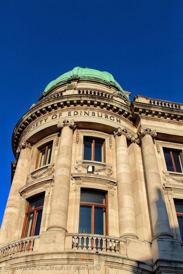 Royal Society tower, Edinburgh