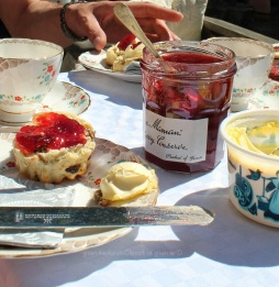 Strawberry Jam and Scones