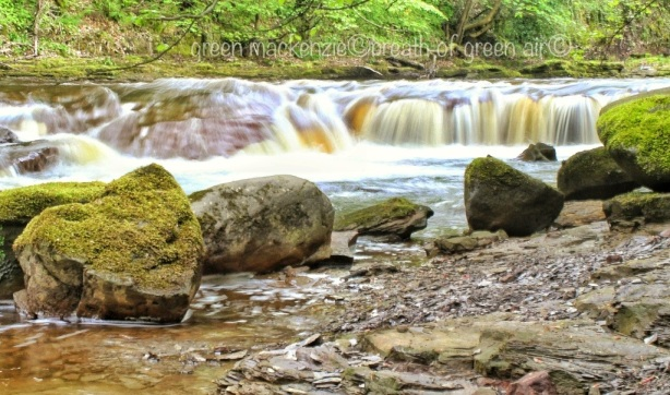 River Esk Waterfall - Midlothian, Scotland