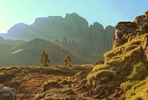 Golden Steps, Storr Ridge, Skye