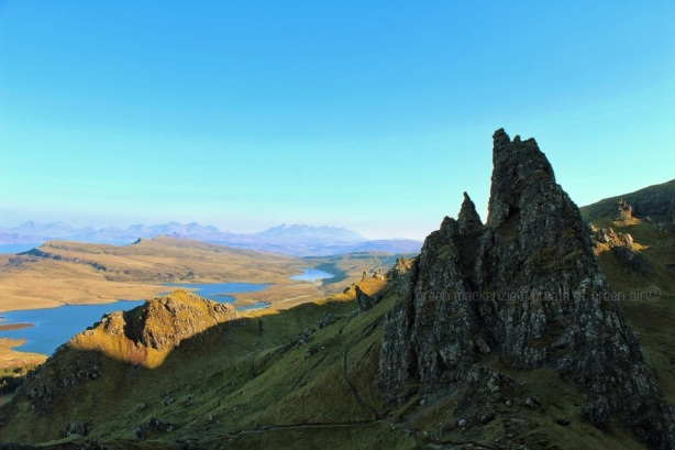 Towards the Coulins from the Old Man of Storr, Isle of Skye