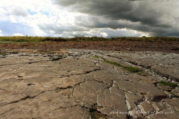 Storm over Skateraw, East Lothian, Scotland