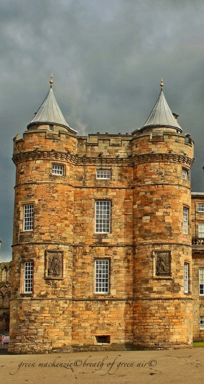 Holyrood Palace tower, Edinburgh