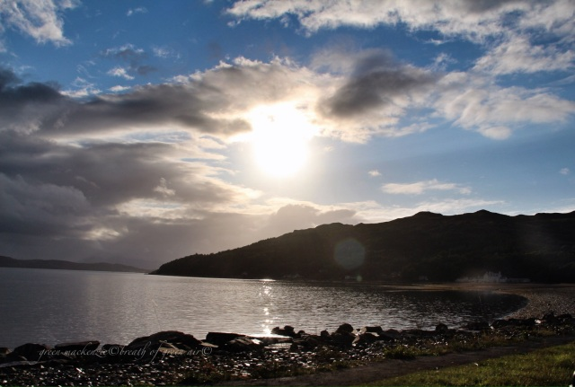 Loch Alsh Scotland evening light and clouds.JPG