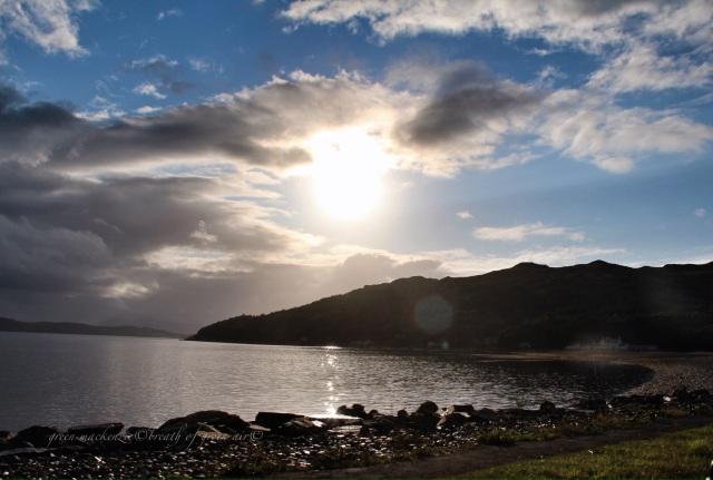 Loch Alsh Scotland evening light and clouds.JPG